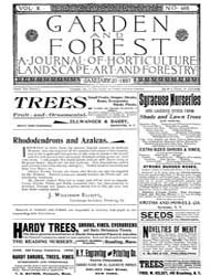 Garden and Forest Volume 10 Issue 466 Ja... by Charles S. Sargent
