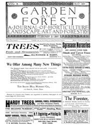 Garden and Forest Volume 10 Issue 467 Fe... by Charles S. Sargent