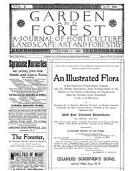 Garden and Forest Volume 10 Issue 469 Fe... by Charles S. Sargent