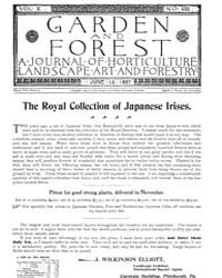 Garden and Forest Volume 10 Issue 486 Ju... by Charles S. Sargent