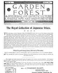 Garden and Forest Volume 10 Issue 487 Ju... by Charles S. Sargent