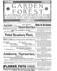 Garden and Forest Volume 10 Issue 493 Au... by Charles S. Sargent
