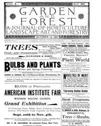 Garden and Forest Volume 10 Issue 502 Oc... by Charles S. Sargent
