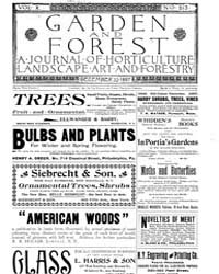 Garden and Forest Volume 10 Issue 513 De... by Charles S. Sargent