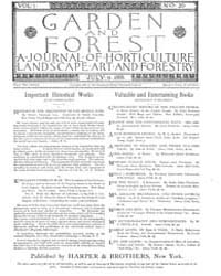 Garden and Forest Volume 1 Issue 20 July... by Charles S. Sargent