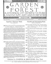 Garden and Forest Volume 1 Issue 21 July... by Charles S. Sargent