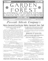 Garden and Forest Volume 1 Issue 28 Sept... by Charles S. Sargent