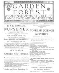 Garden and Forest Volume 1 Issue 34 Octo... by Charles S. Sargent