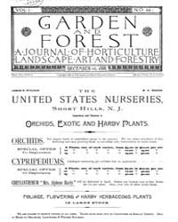Garden and Forest Volume 1 Issue 44 Dece... by Charles S. Sargent
