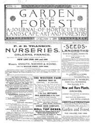 Garden and Forest Volume 2 Issue 45 Janu... by Charles S. Sargent