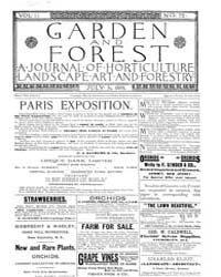 Garden and Forest Volume 2 Issue 75 July... by Charles S. Sargent