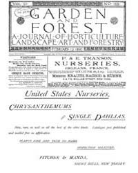 Garden and Forest Volume 3 Issue 103 Feb... by Charles S. Sargent