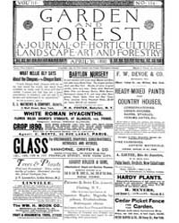 Garden and Forest Volume 3 Issue 114 Apr... by Charles S. Sargent