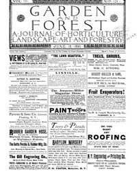 Garden and Forest Volume 3 Issue 121 Jun... by Charles S. Sargent