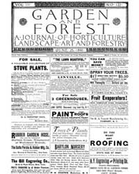 Garden and Forest Volume 3 Issue 122 Jun... by Charles S. Sargent
