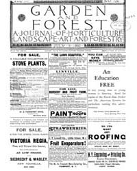 Garden and Forest Volume 3 Issue 124 Jul... by Charles S. Sargent