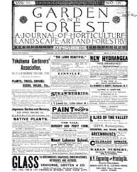 Garden and Forest Volume 3 Issue 129 Aug... by Charles S. Sargent