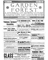 Garden and Forest Volume 3 Issue 132 Sep... by Charles S. Sargent
