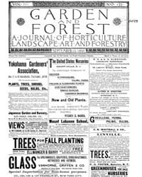 Garden and Forest Volume 3 Issue 133 Sep... by Charles S. Sargent