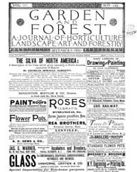 Garden and Forest Volume 3 Issue 145 Dec... by Charles S. Sargent