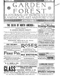 Garden and Forest Volume 3 Issue 146 Dec... by Charles S. Sargent