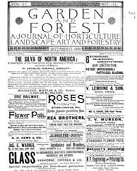 Garden and Forest Volume 3 Issue 147 Dec... by Charles S. Sargent