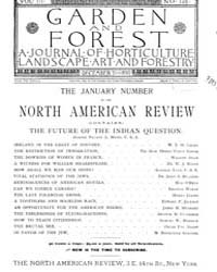 Garden and Forest Volume 3 Issue 149 Dec... by Charles S. Sargent