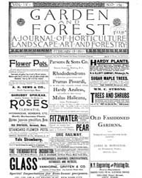 Garden and Forest Volume 4 Issue 156 Feb... by Charles S. Sargent