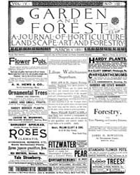 Garden and Forest Volume 4 Issue 158 Mar... by Charles S. Sargent