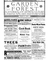 Garden and Forest Volume 4 Issue 167 May... by Charles S. Sargent