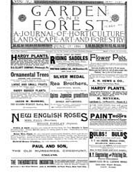 Garden and Forest Volume 4 Issue 173 Jun... by Charles S. Sargent