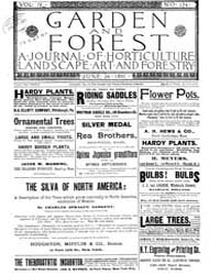 Garden and Forest Volume 4 Issue 174 Jun... by Charles S. Sargent