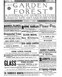 Garden and Forest Volume 4 Issue 175 Jul... by Charles S. Sargent