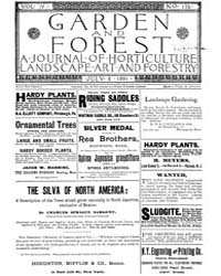 Garden and Forest Volume 4 Issue 176 Jul... by Charles S. Sargent