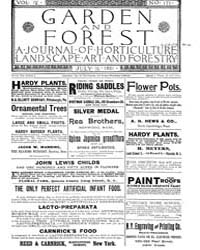 Garden and Forest Volume 4 Issue 177 Jul... by Charles S. Sargent