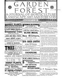 Garden and Forest Volume 4 Issue 181 Aug... by Charles S. Sargent
