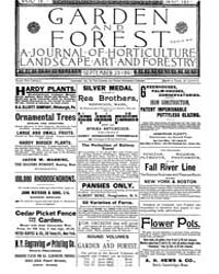 Garden and Forest Volume 4 Issue 187 Sep... by Charles S. Sargent