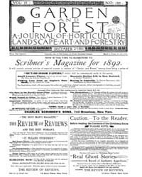 Garden and Forest Volume 4 Issue 197 Dec... by Charles S. Sargent