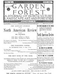 Garden and Forest Volume 4 Issue 200 Dec... by Charles S. Sargent