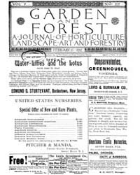 Garden and Forest Volume 5 Issue 207 Feb... by Charles S. Sargent