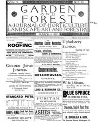 Garden and Forest Volume 5 Issue 211 Mar... by Charles S. Sargent