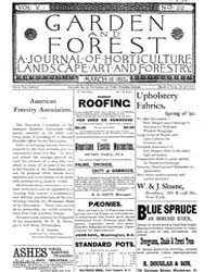 Garden and Forest Volume 5 Issue 212 Mar... by Charles S. Sargent