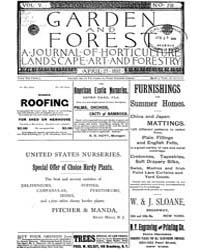 Garden and Forest Volume 5 Issue 218 Apr... by Charles S. Sargent