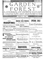 Garden and Forest Volume 5 Issue 219 May... by Charles S. Sargent