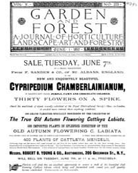 Garden and Forest Volume 5 Issue 223 Jun... by Charles S. Sargent