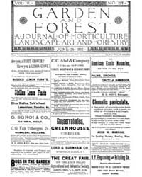 Garden and Forest Volume 5 Issue 227 Jun... by Charles S. Sargent