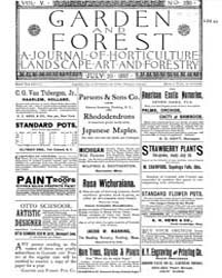 Garden and Forest Volume 5 Issue 230 Jul... by Charles S. Sargent