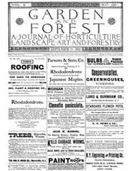 Garden and Forest Volume 5 Issue 239 Sep... by Charles S. Sargent