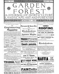 Garden and Forest Volume 5 Issue 241 Oct... by Charles S. Sargent