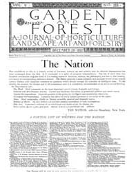 Garden and Forest Volume 5 Issue 253 Dec... by Charles S. Sargent